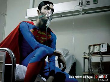 Superman_in_AIDES_campaign